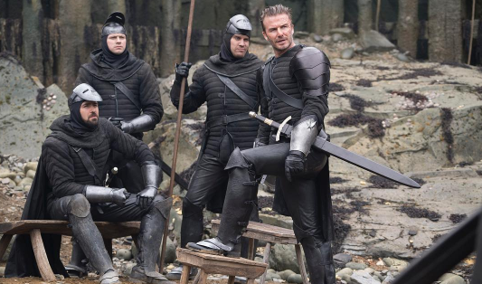 Pleasure working in 'King Arthur': David Beckham