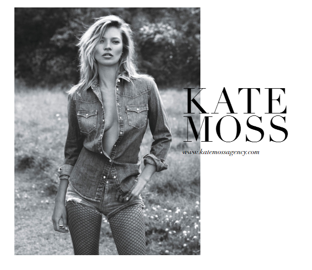 Kate Moss is launching a talent agency
